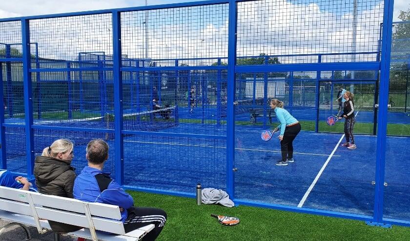 <p>Padel, een soort kruising tussen tennis en squash, is de status van hype voorbij.&nbsp; Foto: PR</p>