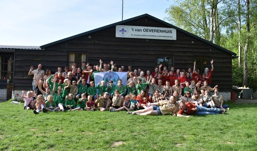 <p>Groepsfoto Scouting Karel Doorman. Foto: PR</p>