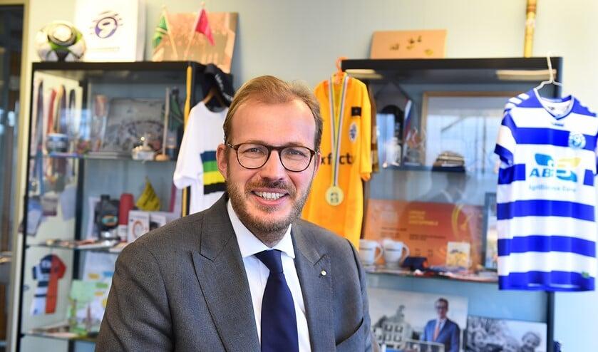 Burgemeester Mark Boumans.