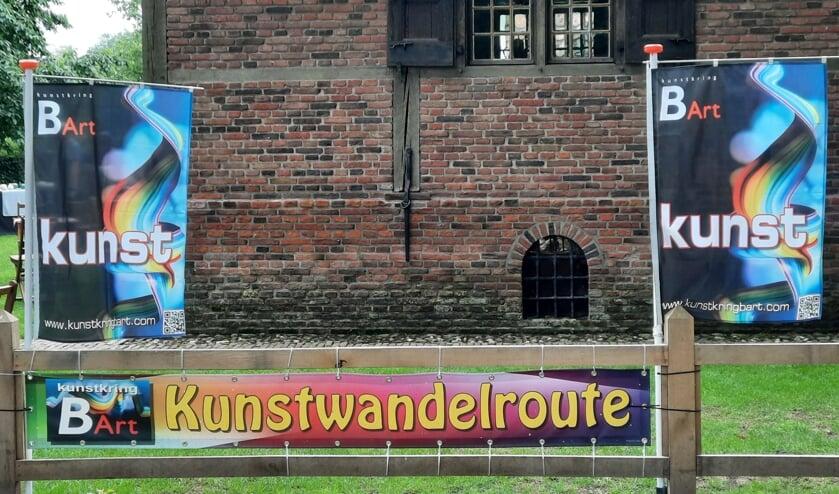 Kunstwandelroute loopt op z'n eind. Foto: PR