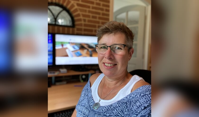 Silvie Bergervoet viert het 12,5- jarig jubileum van haar bedrijf Webdisignidee. Foto: PR