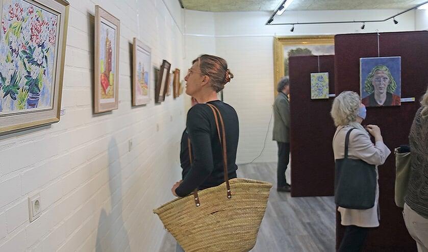 <p>De expositie van het MAS met werken van Hubert van Hille is geopend. Foto: Sander Grootendorst</p>