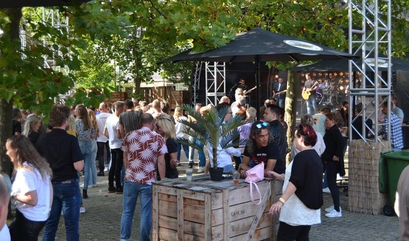 Qrisis bij De Hofnar, Volksfeest Aalten. Foto: Karin Stronks