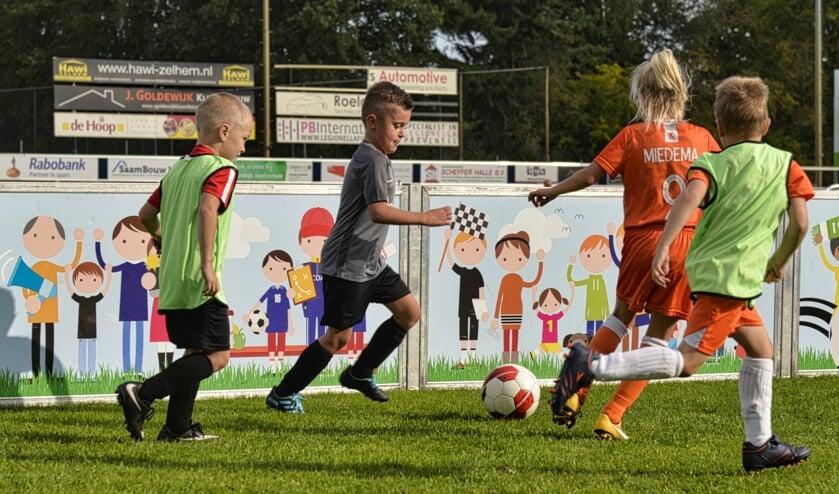 <p>Eerdere editie voetbalinstuif. Foto: clubfotograaf ZZC &#39;20/Gerrie Evers </p>
