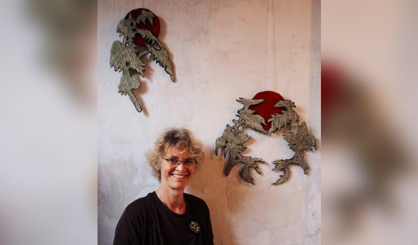 <p>Miriam Verbeek exposeert in de galerie van de Overtuin. Foto: PR</p>