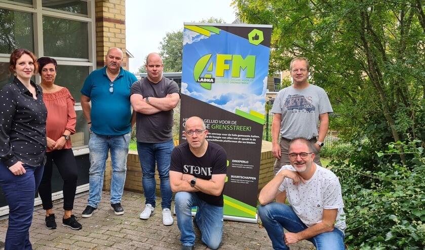 Het team van de AFM Hulpweek. Foto: PR
