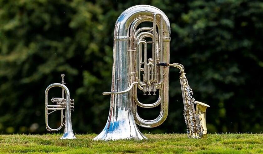 Muziek maken bij Excelsior. Foto: Henk van Raaij