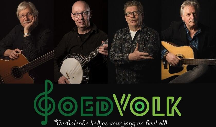 <p>Streektaalband GoedVolk. Foto: PR</p>