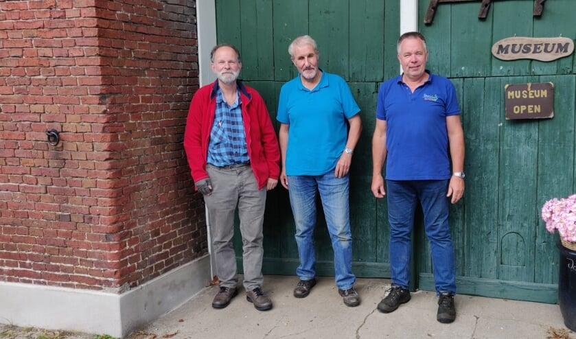 Bert Smeenk, Jan Hamersteen, Erik Groot Obbink. Foto: Rob Stevens