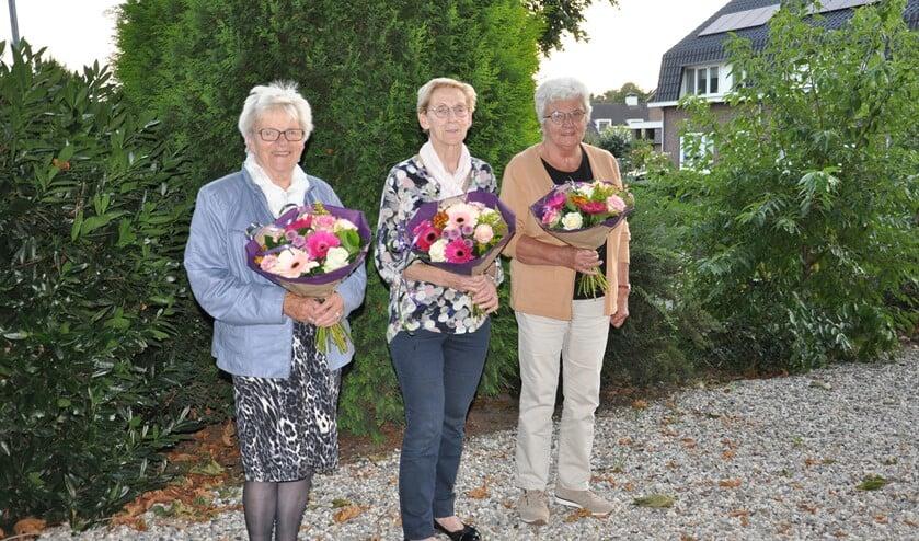 <p>Van links naar rechts: Annie Venus, Riet Gerritzen en Annie Messing. Foto: PR<br><br></p>