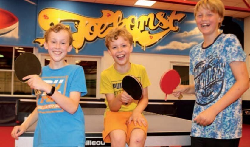 <p>Tafeltennisvereniging De Toekomst wil de jeugdafdeling nieuwe leven inblazen. Foto: Arjen Dieperink</p>