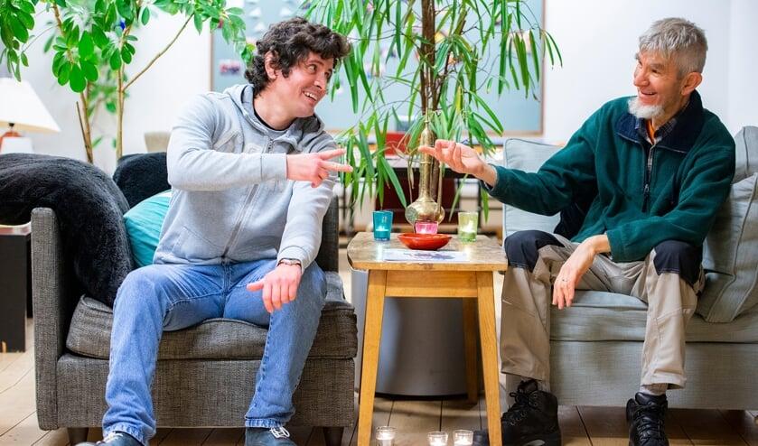 <p>Victor en Hans. Foto: Pim Helmich</p>
