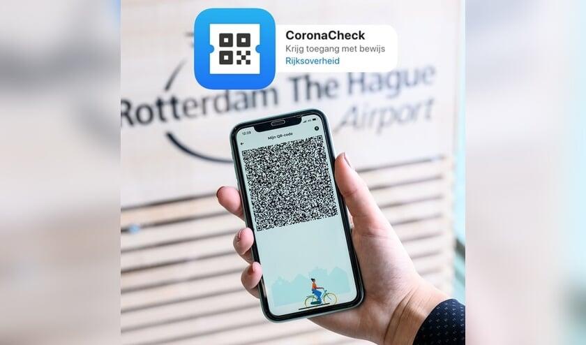The QR-code in de coronacheck-app (bron: rijksoverheid.nl)