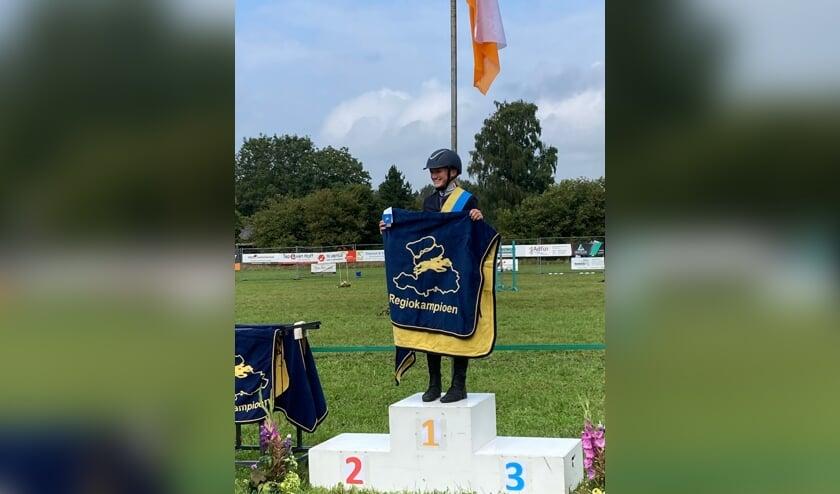 <p>Chantal Nijhof regiokampioen. Foto: PR</p>