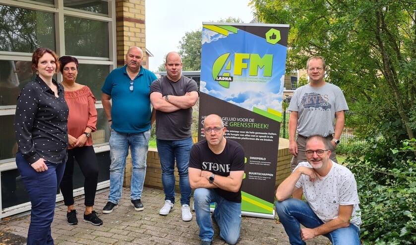 <p>Het team van de AFM Hulpweek. Foto: PR</p>