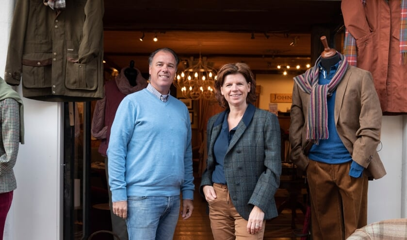 Martin Pietersma en Simone Mees ten Oever-Renneboom zijn de twee directeuren van Stockyard BV, het moederbedrijf van John Bardale. Foto: Lotte Kram