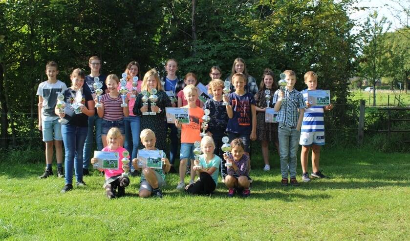 Deelnemers van de Kalveropfokkeuring Bronckhorst. Foto: KOC Bronckhorst