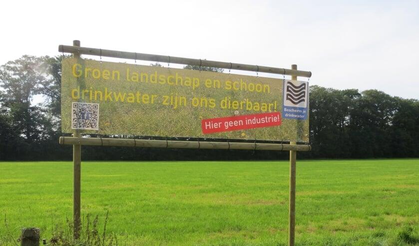Omwonenden willen geen bedrijventerrein. Foto: Bernhard Harfsterkamp