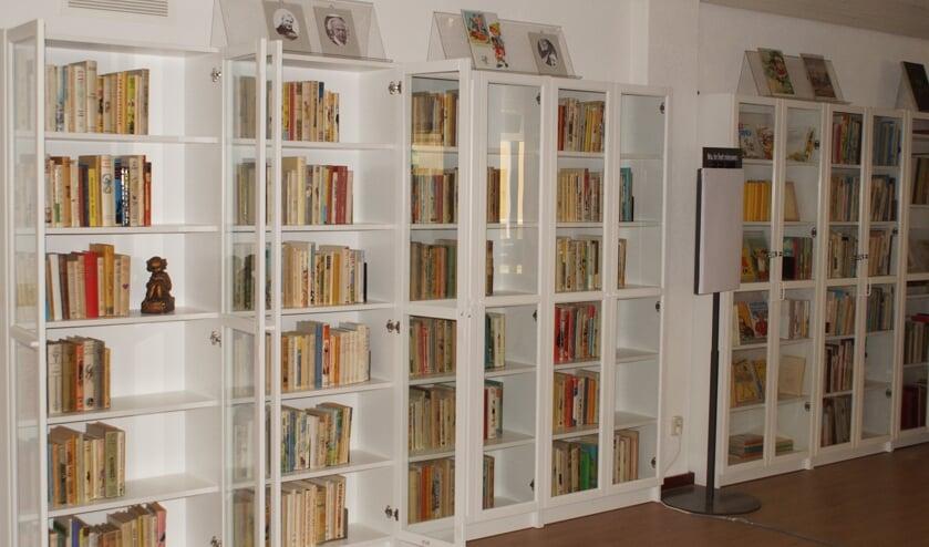 <p>De bibliotheek van StOK. Foto: PR</p>