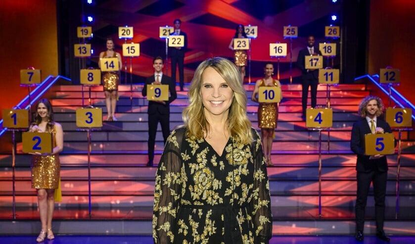 Postcode Loterij Miljoenenjacht-presentatrice Linda de Mol. Foto: Roy Beusker Fotografie