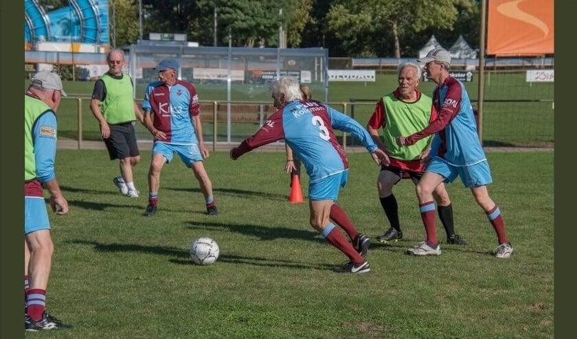 <p>Het zestig-plus-voetbal gaat nu echt van start. Foto: PR</p>