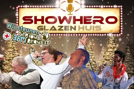 Stichting Showhero zet op 19, 20 en 21 december in Alkmaar het 'Showhero Glazen Huis' neer, om geld op te halen voor Serious Request