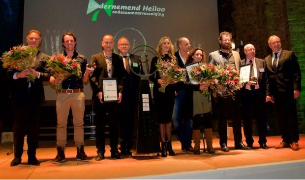 Alle prijswinnaars op een rij © Uitkijkpost Media B.v.