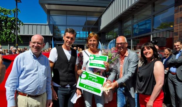 Linda de Jong won 1000 euro contant.