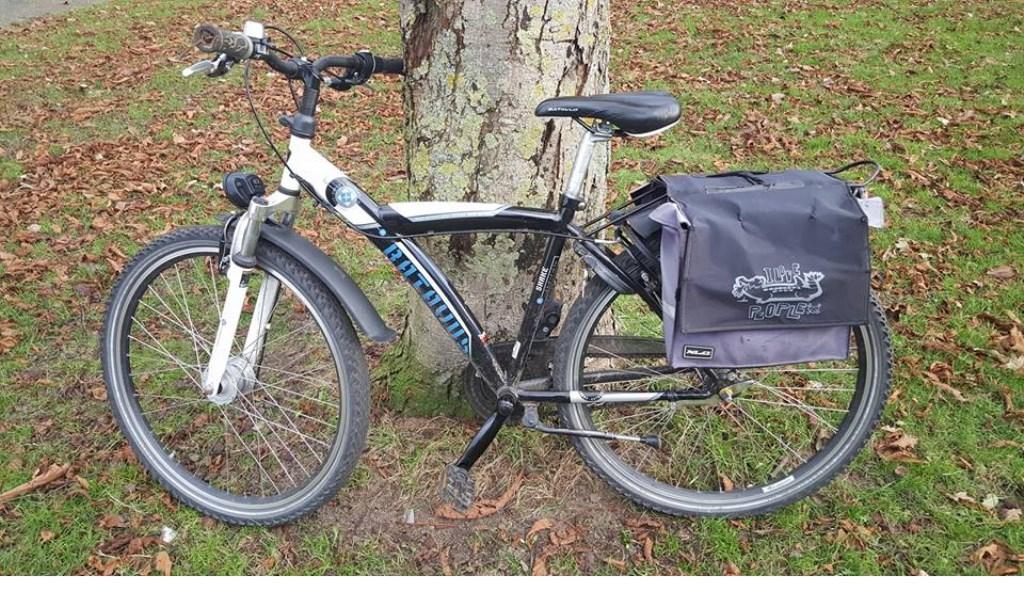 Zelfs fietsen werden op slot gezet..  © Uitkijkpost Media B.v.