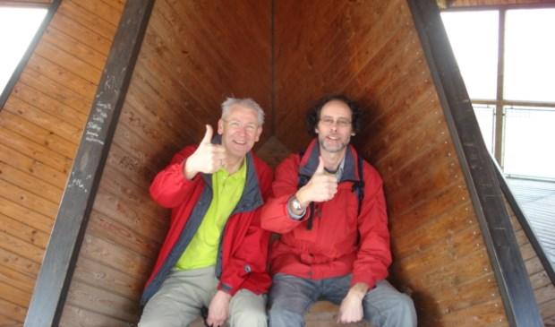 Jan Roemer (links) en Lex Aelbers Foto: aangeleverd
