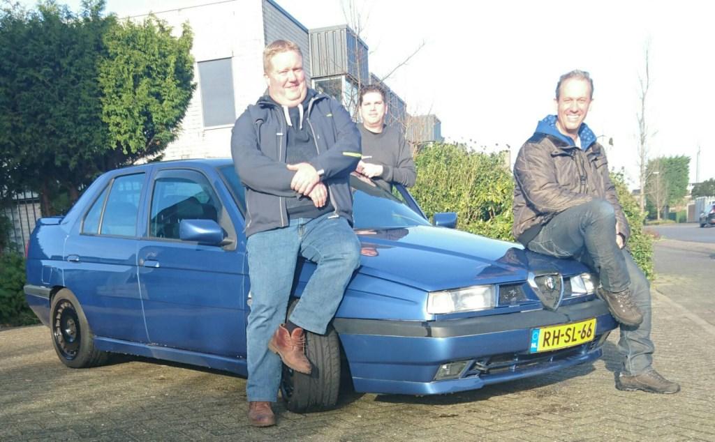 Van links naar rechts: Léon Spaans, Robin Bolten en Ernst Kleine © Uitkijkpost Media B.v.