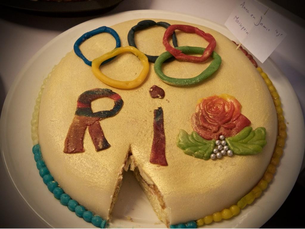 De Rio-taart van Anna en Jamie  © Uitkijkpost Media B.v.