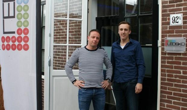 Aad Gul en Marco de Vries van Ledsko
