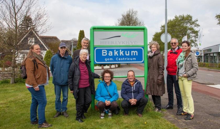 De groep straatcontactpersonen in Bakkum