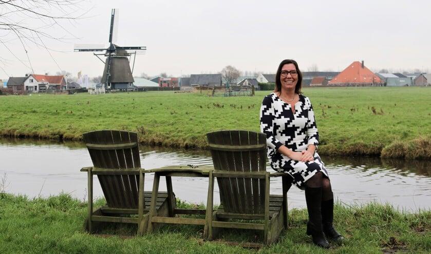 Anke de Vink - Hartog, lijsttrekker voor de VVD voor de aankomende gemeenteraadsverkiezingen.