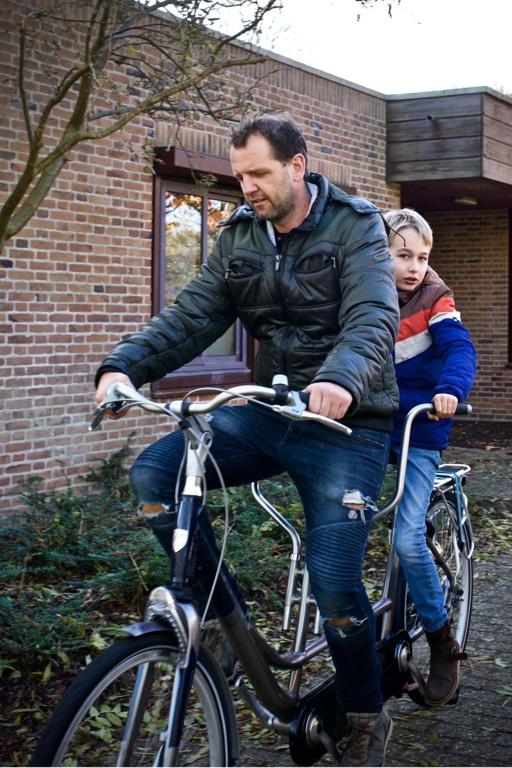 Bart van Schagen en Kees Kops proberen de tandem uit. Foto: STiP Fotografie © Uitkijkpost Media B.v.
