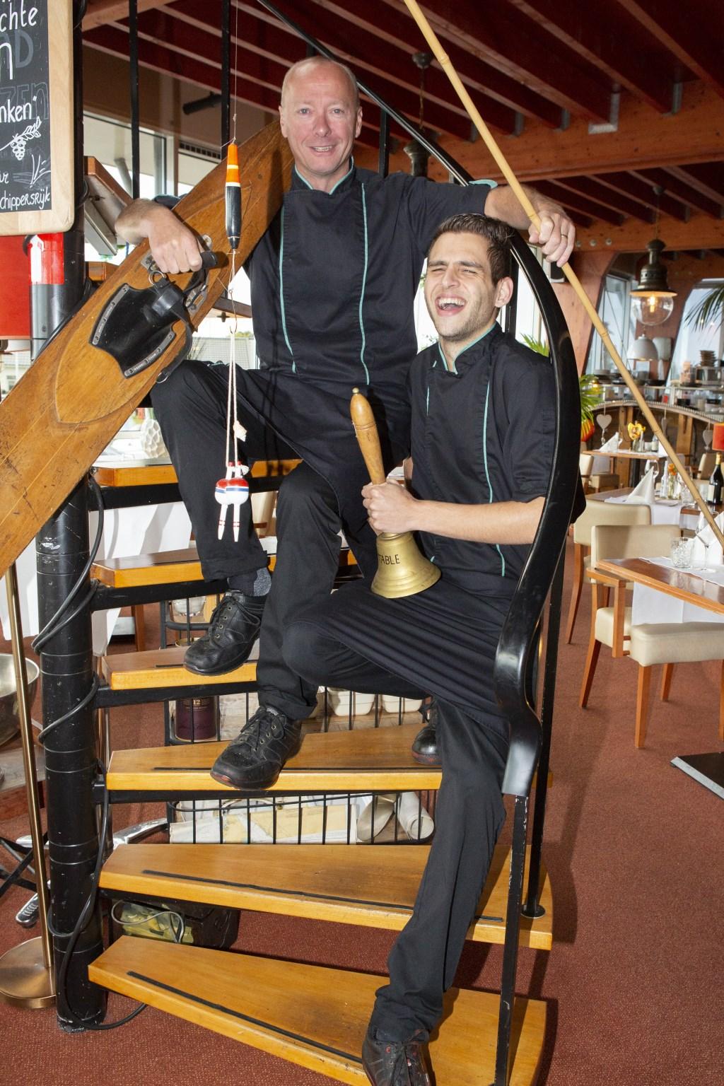 Foto: Chef-kok Remco en sous-chef Martijn © Uitkijkpost Media B.v.