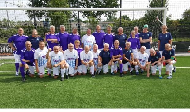 Walking Football team juni 2017