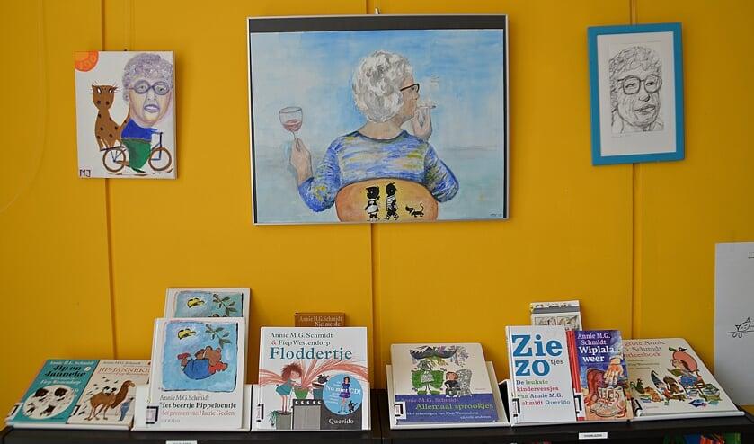 Annie MG Schmidt expositie in Lees Lokaal