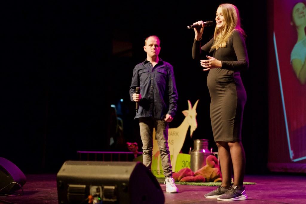 Juriaan Singels en Sanne Mallant verzorgden de opening. Foto: STiP Fotografie © Uitkijkpost Media B.v.
