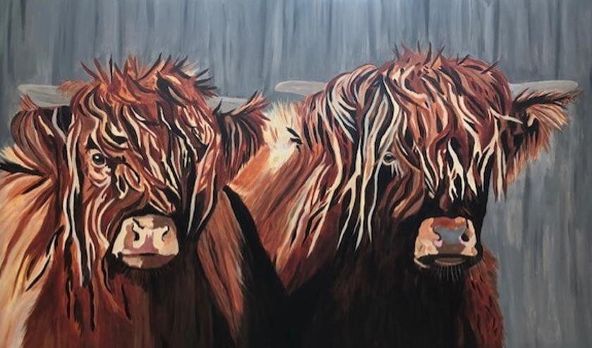 De schilderijen van Wilma Pals, kunst met een knipoog.