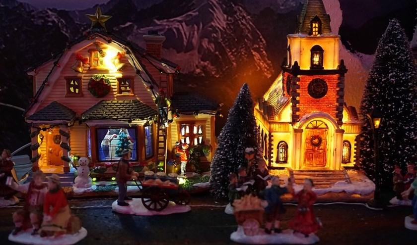 Het gezellige kerstdorp op de Kleis
