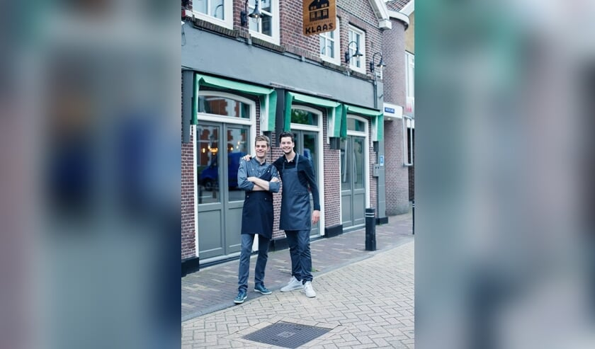 Chef Kok Jos Keijsper en Gastheer Niek Groen Café Restaurant Klaas