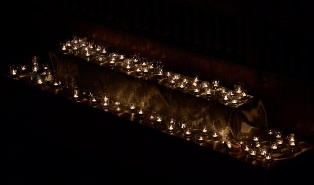 Voor ieder overleden kind een lichtje. Foto: STiP Fotografie © Uitkijkpost Media B.v.