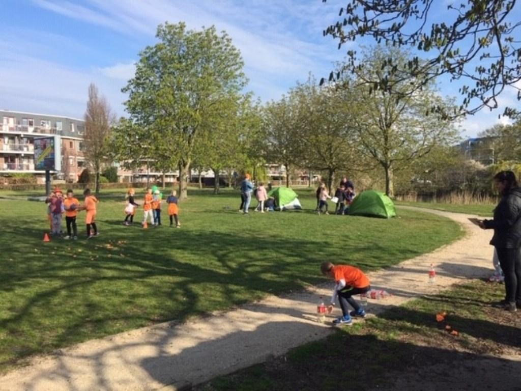 Paulusschool: tijdens de zeskamp wordt er van alles gedaan.  Foto: aangeleverd © Uitkijkpost Media B.v.