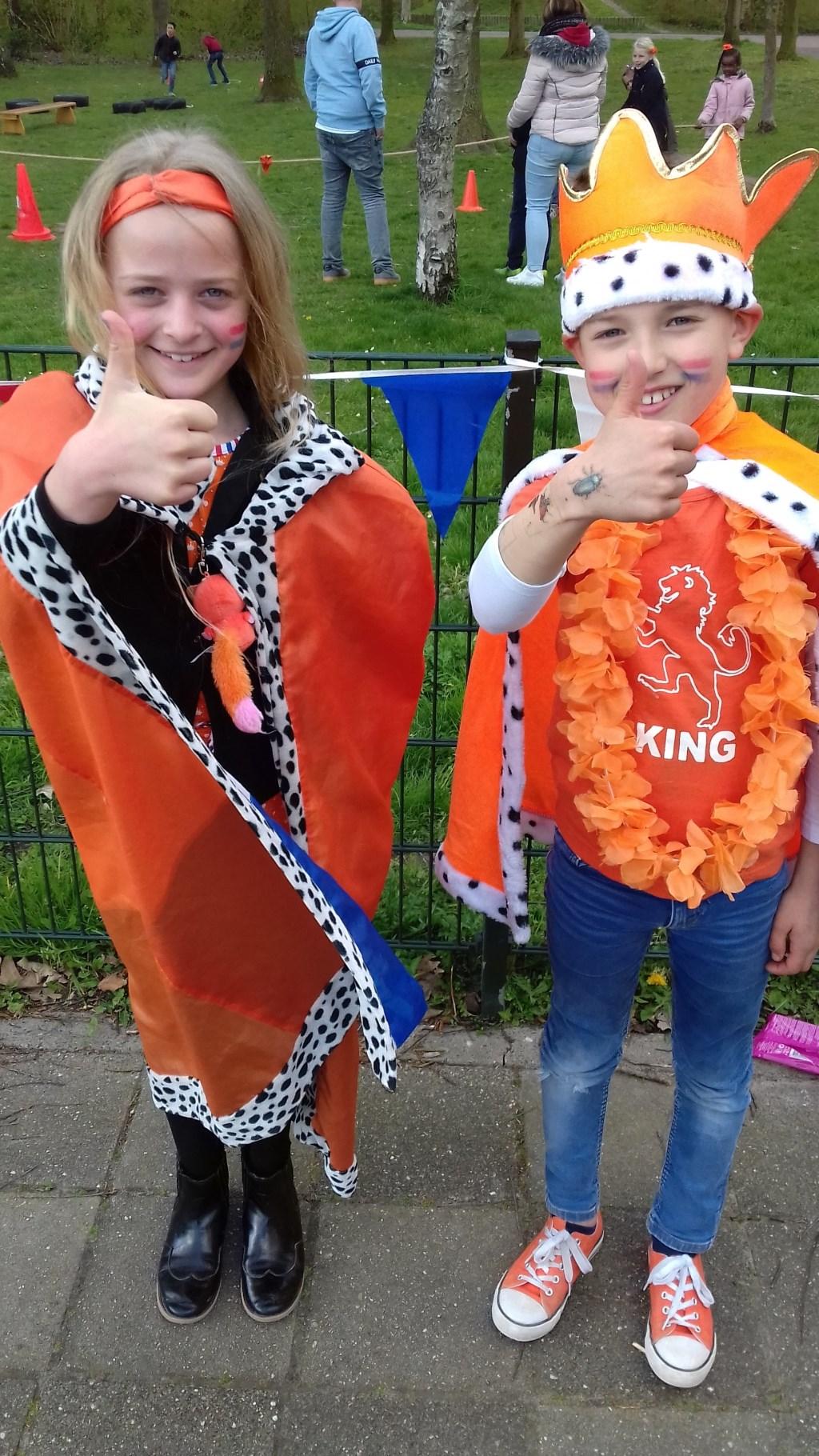 Willibrordschool: het koninklijk paar heeft er zin in.  Foto: aangeleverd © Uitkijkpost Media B.v.