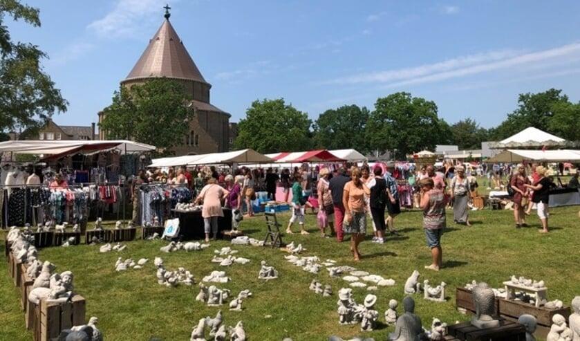 Het is altijd gezellig om even te struinen op de Lente Fair.