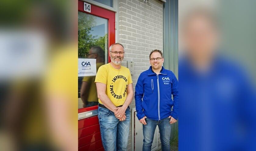 Maarten Hoogstadt (links) en Koen Honhof (rechts)