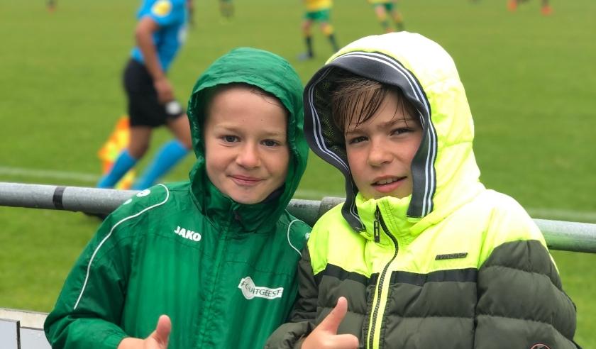 Joey en Stijn tijdens het ICGT toernooi in 2019. De jeugd heeft de toekomst.