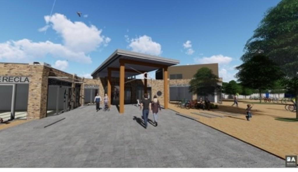 Impressie van de revitalisatie   Ontwerp: Breddels Architecten © Uitkijkpost Media B.v.